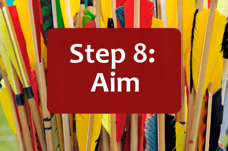 How to Aim a Bow and Arrow